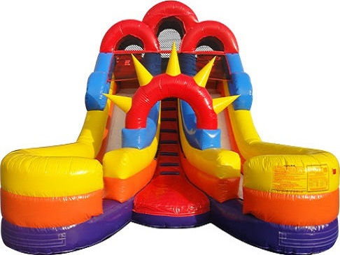 Double Splash Slide Rental Tinley Park IL