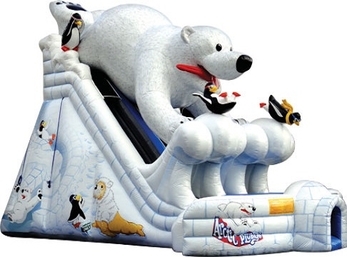 Arctic Polar Bear Plunge Water Slide Rental