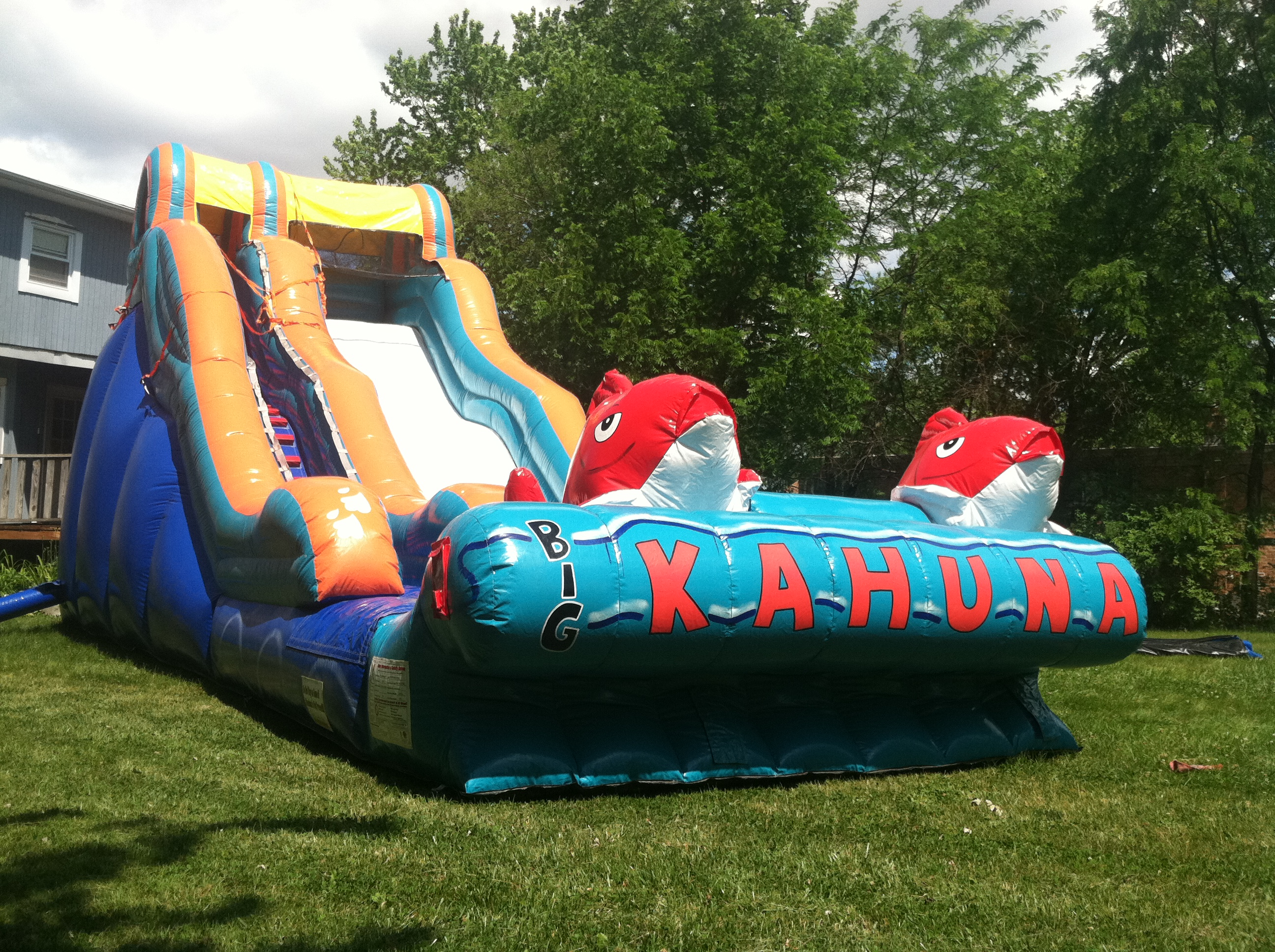 Big Kahuna Inflatable Water Slide Tinley Park