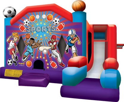 Sports Bounce House Rental | Tinley Park IL
