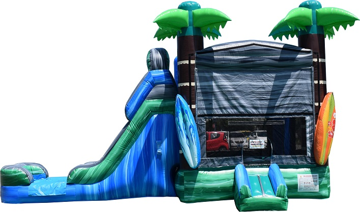 Rent a bounce house in Tinley Park | Tropical Theme