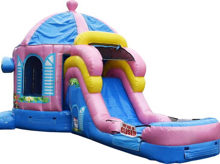 Combo Bounce House Rental With Slide New Lenox IL